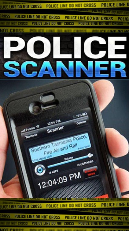 Live Police Scanner Radio - Listen to the Cops in Multiple Austrailian Cites screenshot-0