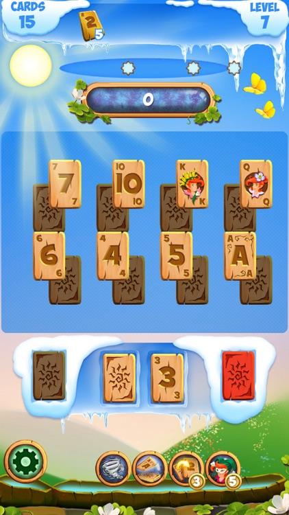 Solitaire Frozen Fairy Tales: Tripeaks Card Game