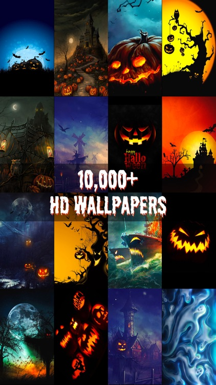 HD Halloween Wallpapers & Backgrounds Free screenshot-0