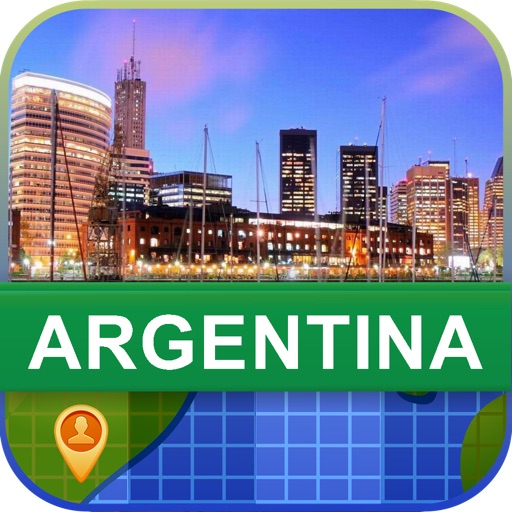 Offline Argentina Map - World Offline Maps