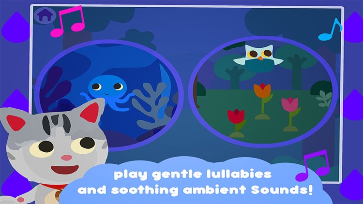 lullaby sound box – bedtime music app to sooth and sleep –  for baby, infant and little children screenshot-3