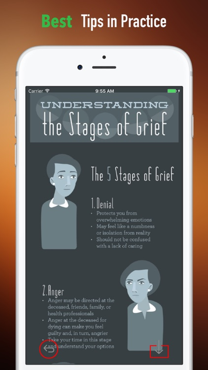 Coping with Grief and Loss Guide:Grieving Tips screenshot-3