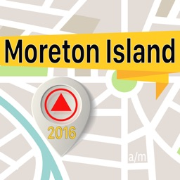 Moreton Island Offline Map Navigator and Guide