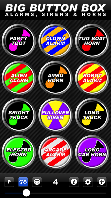 Big Button Box: Alarms, Sirens & Horns - sound fx screenshot four