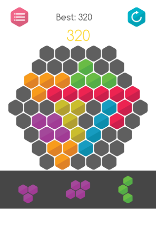 Gridblock - 10/10 Jigsaw Grid Block Logic Puzzle - náhled