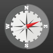 Compass Heading - Minimalist, Magnetic, Digital Direction Finder icon