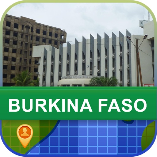 Offline Burkina Faso Map - World Offline Maps
