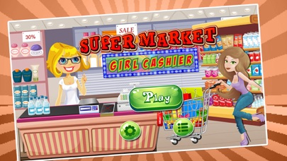 Supermarket Girl Cashier Simulation