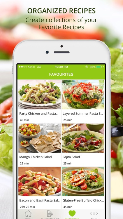 Healthy Diet Salad Recipes | Cook & Learn Guide screenshot-3