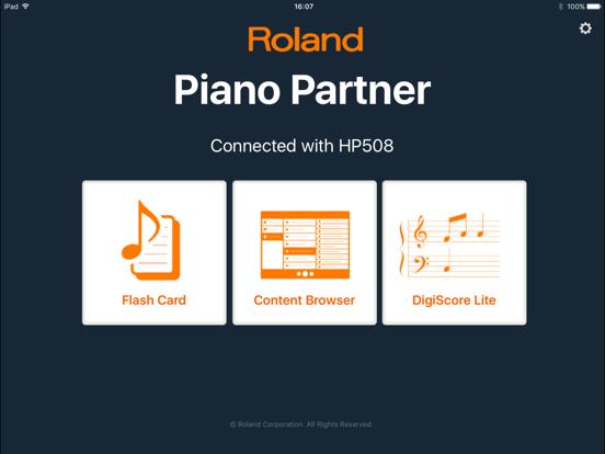 Piano Partner screenshot one