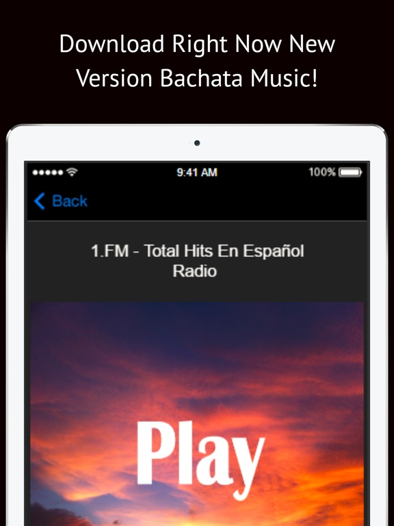 Bachata Music Songs: Latin Free Dominican Online iOS Application