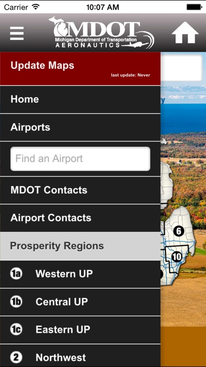 Mi Airports Directory
