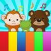 动物的叫声孩子的钢琴应用程序