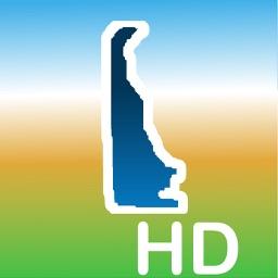 Aqua Map Delaware DE Lakes HD- GPS Nautical Charts