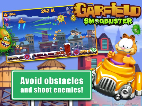 Garfield Smogbuster screenshot 7