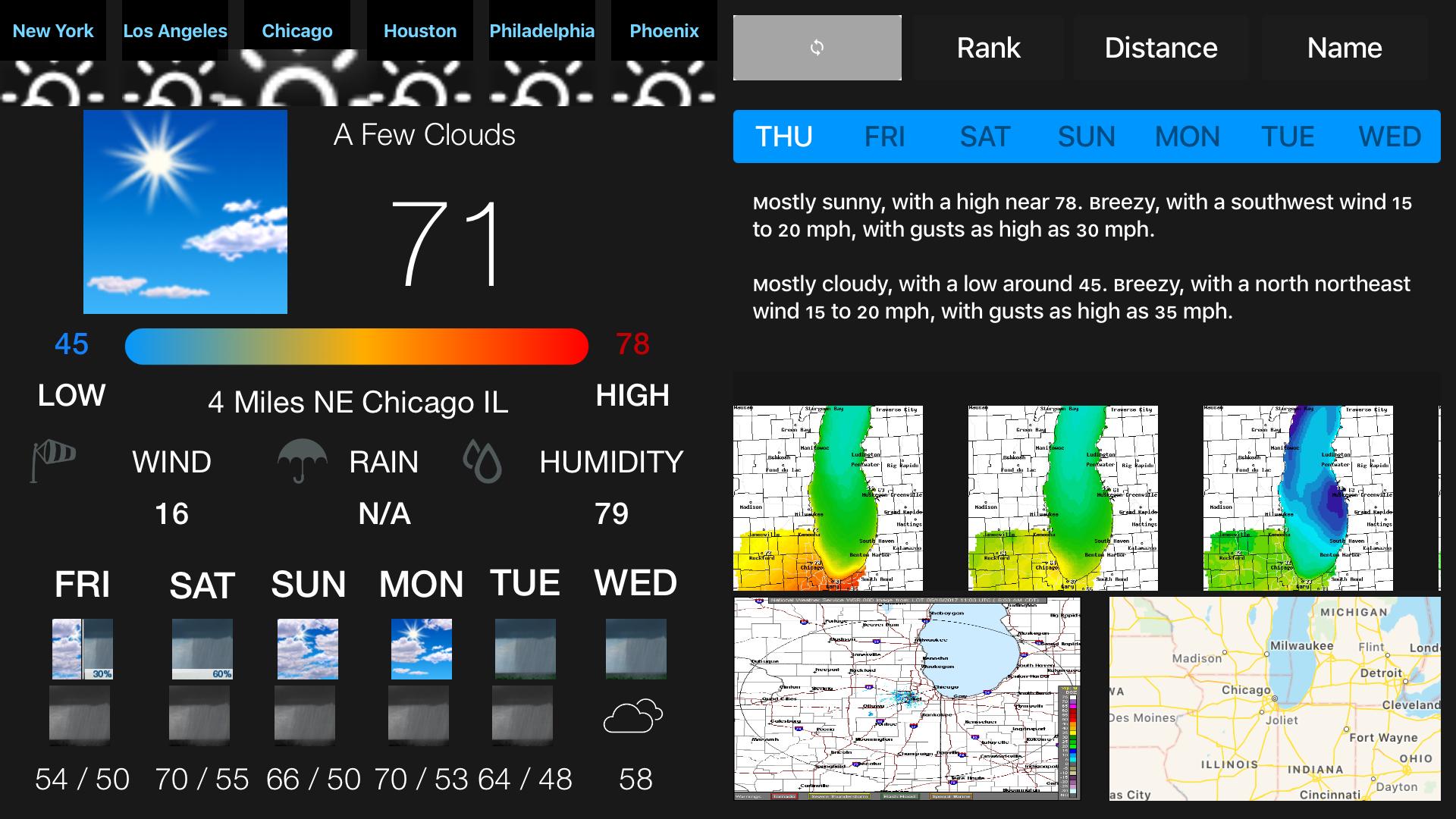 Instant NOAA Weather Forecast screenshot 15