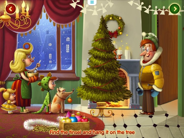 Christmas Magic: Interactive story book for kids screenshot-2
