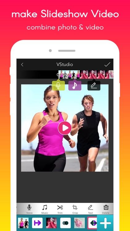 VStudio PRO:Video Editor and movie slideshow maker