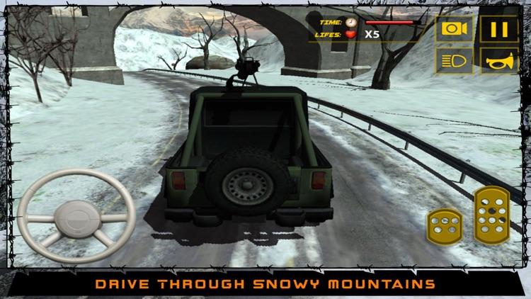 US Army Truck Driver Battle 3D- Driving Car in War