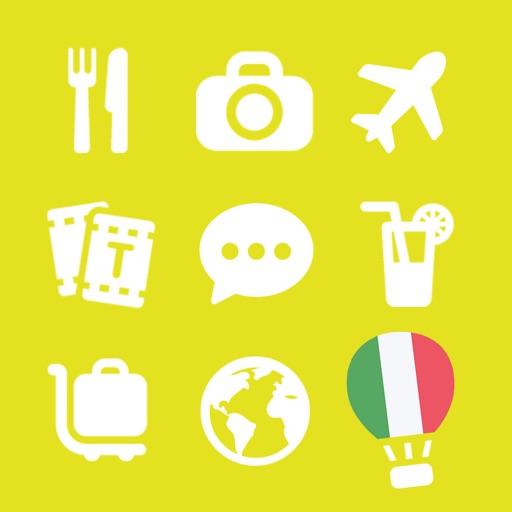 LETS Travel Italy! Speak Italian Phrase Guide Book