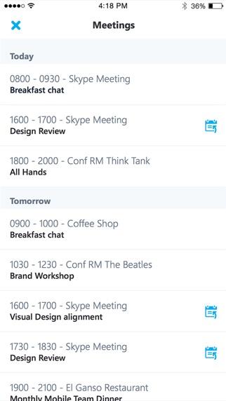 Screenshot for Skype for Business in Austria App Store