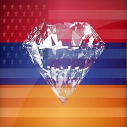 Armenian Phrases Diamond 4K Edition