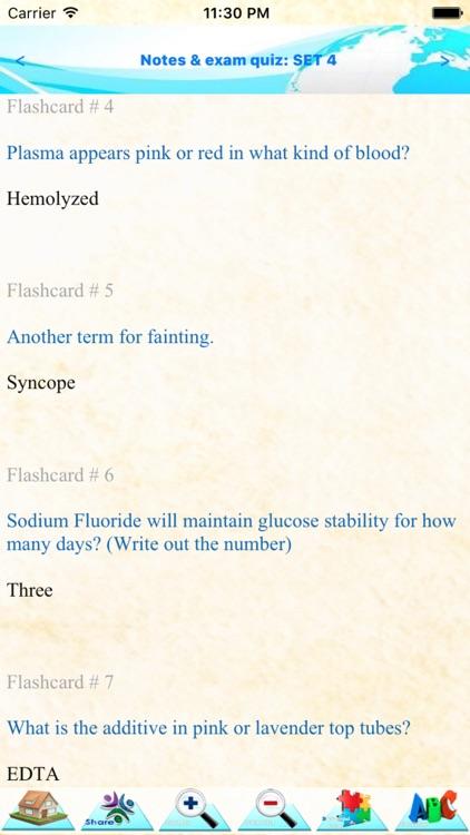 Phlebotomy 5000 Notes Quiz For Exam Preparation