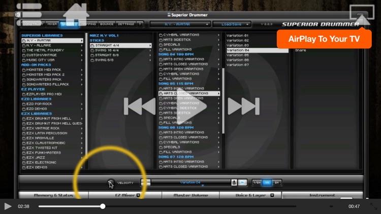 Superior Drummer 2.0 Tutorials screenshot-3