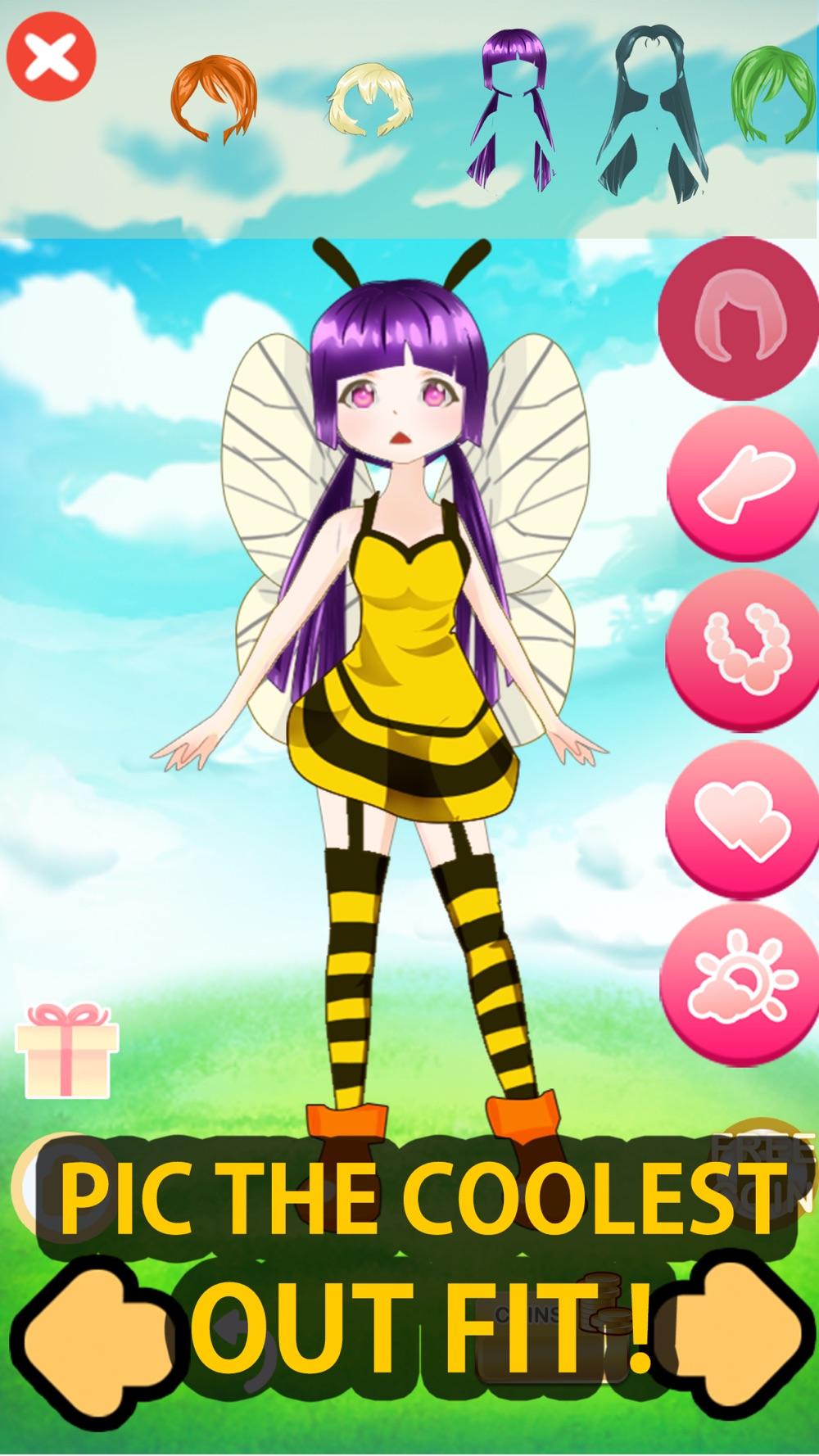 Go to Create Monster Girl XY Dress up for Pokemon hack tool