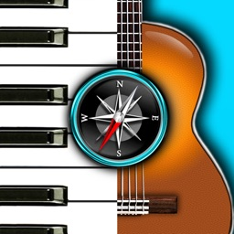 Chords Compass: find piano, guitar chords & more!