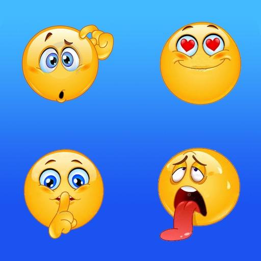 Emoji keyboard and cute emoticons