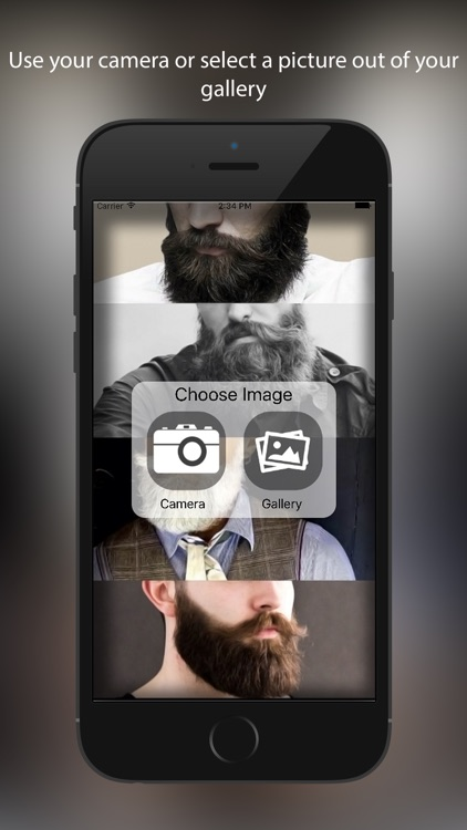 Beard Booth Photo Editor:  Beard Salon screenshot-0