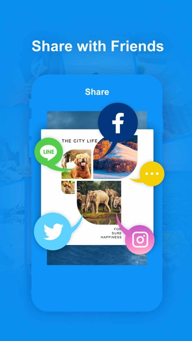 Collage Maker—Personalized, Photo Grid, Editor Screenshot on iOS