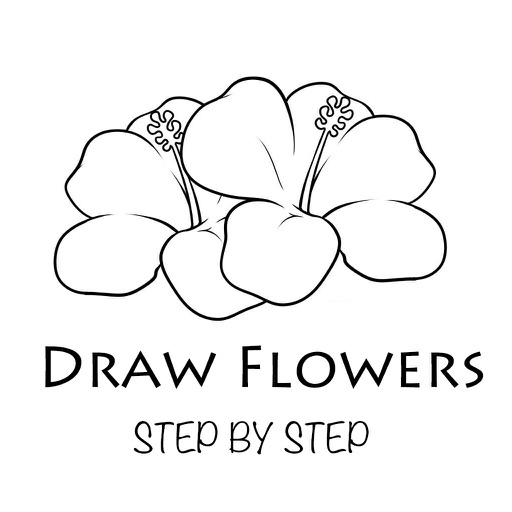 How To Draw Flowers - Step By Step Drawing