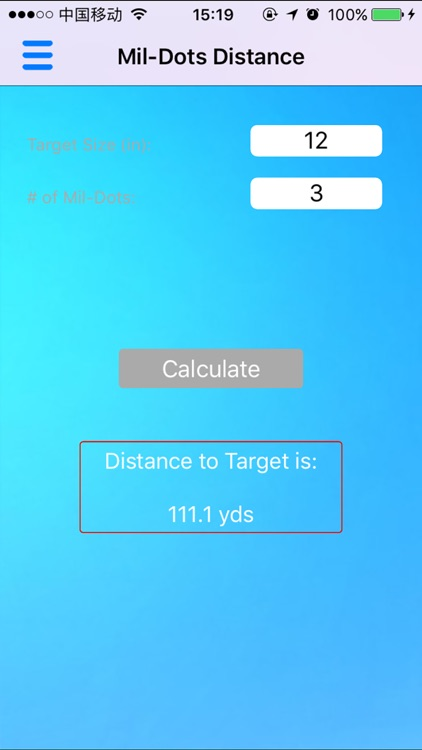 Ballistic Calculator - Range Finder, Trajectory screenshot-3