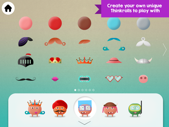 Thinkrolls: Kings & Queens Screenshots