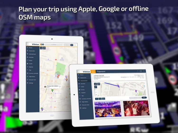 Vilnius Travel Guide & offline city map screenshot-3