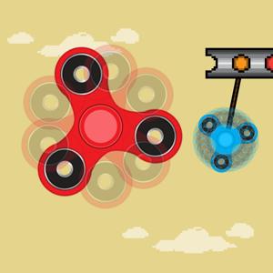Fidget Spinner - Swing Spin Returns Books app