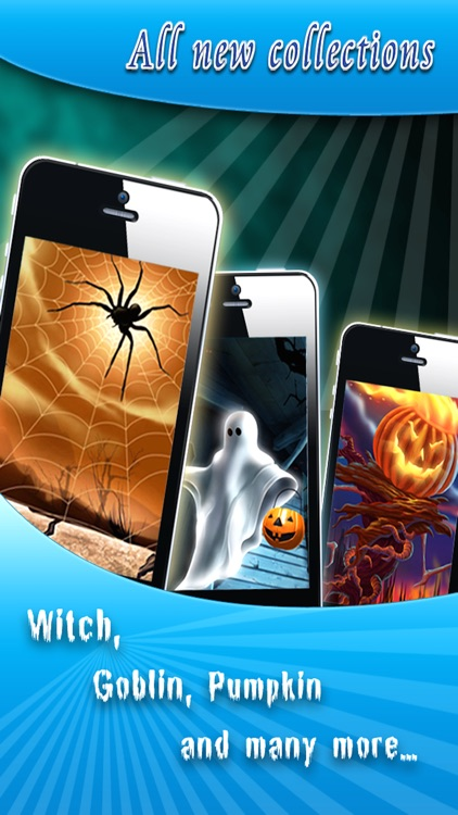 HD Halloween Wallpapers Pro for iPhone 5/iPad screenshot-0
