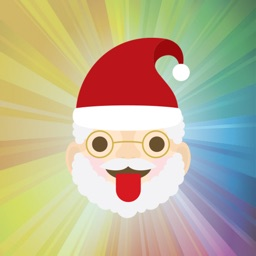 Santa Claus emojis for Christmas - Fx Sticker
