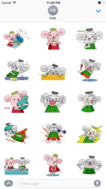 Cutie Babe Stickers for iMessage
