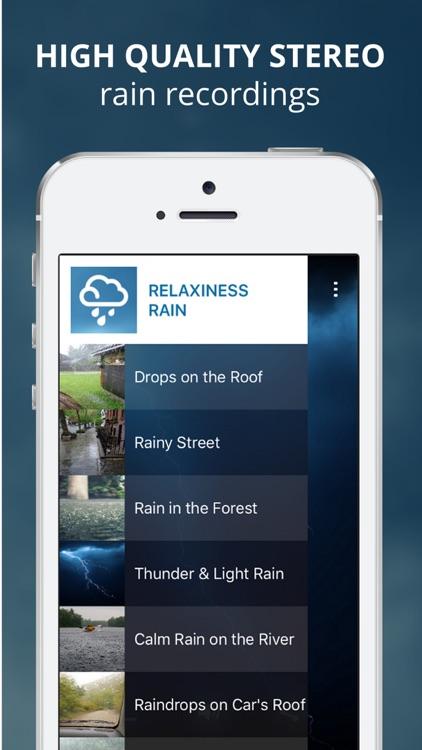 Relaxiness - Relax with Rain Sounds screenshot-3