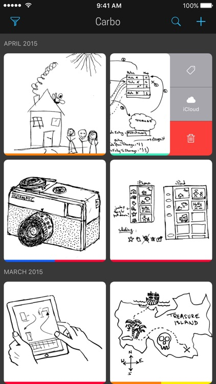 Carbo - Notes & Sketches screenshot-0
