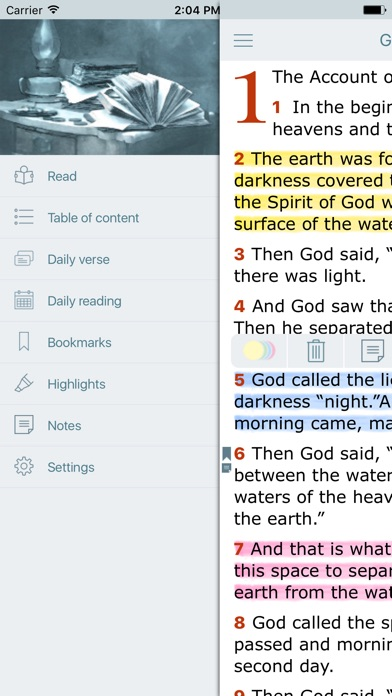 NLT Bible New Living Translation and Audio Version for Windows