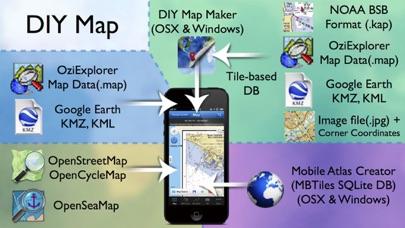 산넘어산GPS (등산, MTB, 계류낚시용 지도) for Windows