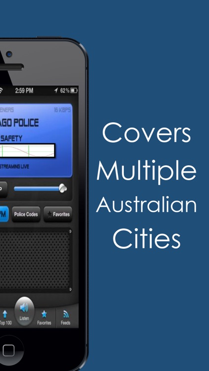 Live Police Scanner Radio - Listen to the Cops in Multiple Austrailian Cites screenshot-3