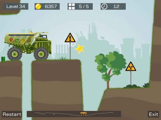 Screenshot #4 pour Big Truck -Mine Express Racing