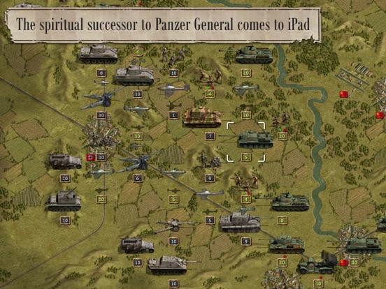 Panzer Corps Lite на iPad
