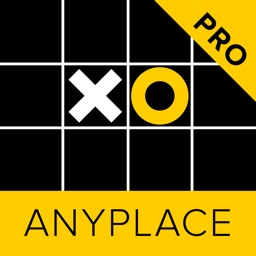 Anyplace Tic Tac Toe. Noughts & crosses game 5x5