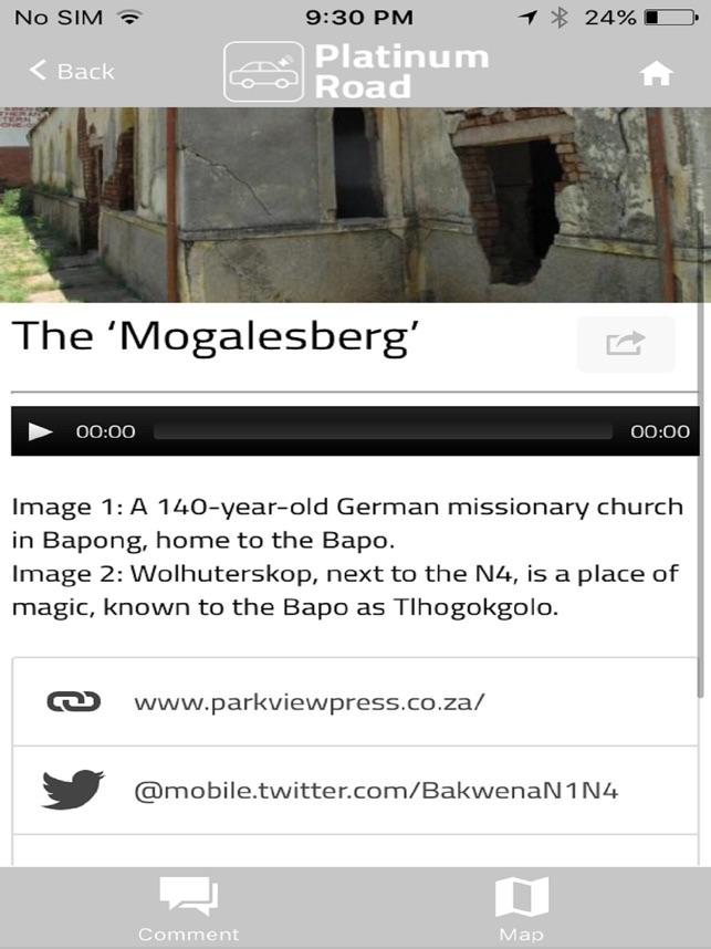 web stranica za gauteng